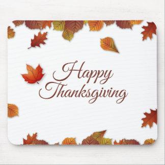 Eenvoudige Thanksgiving   van de Bladeren van de Muismat