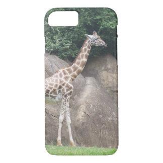 Eenzame Giraf iPhone 7 Hoesje