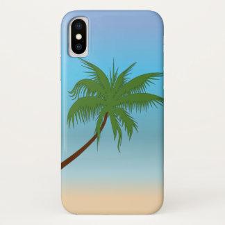 Eenzame Palm iPhone X Hoesje