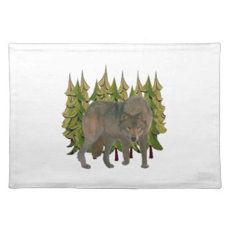 Eenzame Wolf Placemat