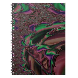 eerbiedige edelmoedigheidfractal notitieboek