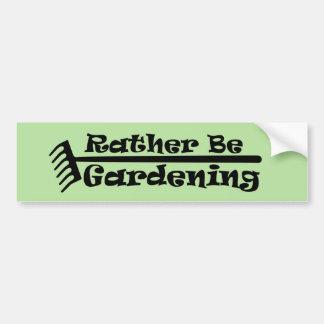 Eerder tuiniert bumpersticker