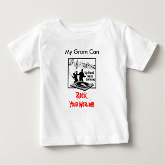 Eerlijk - muziek-dienst-logboek-300, Mijn Gram Baby T Shirts