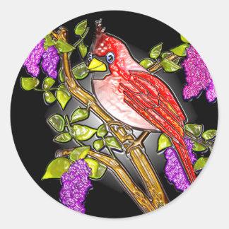 Eerst Kardinaal (stickers) Ronde Sticker