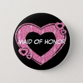 Eerste bruidsmeisje ronde button 5,7 cm