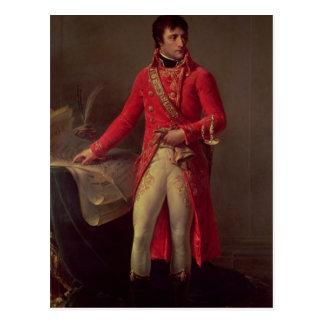 Eerste Consul van Bonaparte van Napoleon, 1802 Briefkaart