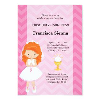 Eerste Heilige Communie 12,7x17,8 Uitnodiging Kaart