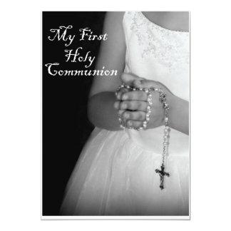 Eerste Heilige Communie 3 12,7x17,8 Uitnodiging Kaart