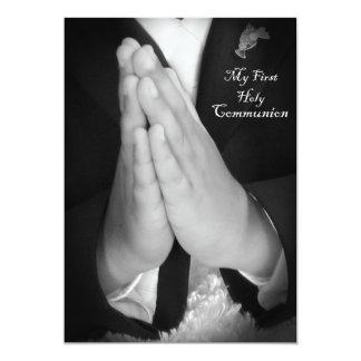 Eerste Heilige Communie 6 12,7x17,8 Uitnodiging Kaart