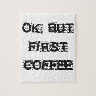 Eerste Koffie Puzzel