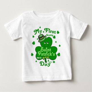 Eerste St. Patrick van de Jongen van het Baby van Baby T Shirts