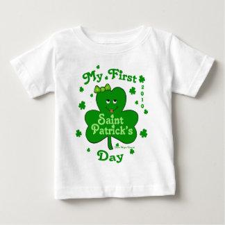 Eerste St. Patrick van het Meisje van het Baby van Baby T Shirts