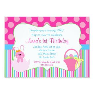 Eerste Verjaardag Pasen 12,7x17,8 Uitnodiging Kaart