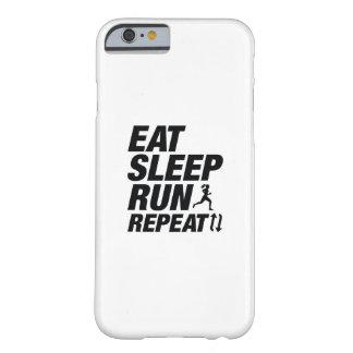 Eet de Looppas van de Slaap herhalen Barely There iPhone 6 Hoesje
