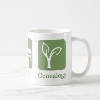 Eet de Mok van de Genealogie van de Slaap