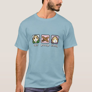 Eet de T-shirt van het Mannen van het Proefkonijn