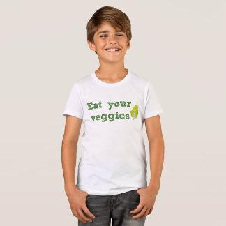 Eet de T-shirt van Uw Kind Veggies
