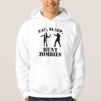 Eet de Zombieën van de Jacht van de Slaap Hoodie