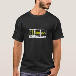 EET de Zwarte van de HOMMEL van de SLAAP T Shirt