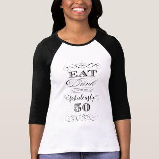 Eet Drank en ben de Partij van Verjaardag T Shirt