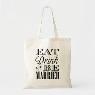 Eet Drank en ben het Gehuwde Bolsa van het Draagtas