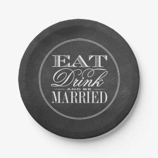 Eet, drink & ben het Gehuwde Huwelijk van het Bord