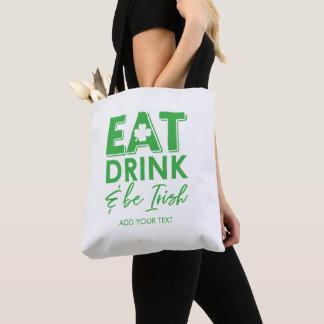 Eet, drink & ben Ierse St. Patrick van de Draagtas