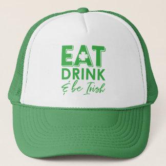 Eet, drink & ben Ierse St. Patrick van de Klaver Trucker Pet