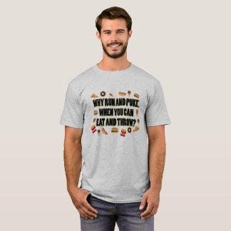Eet en werp het Schot Gezette Overhemd van de T Shirt
