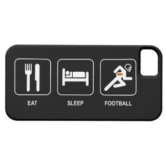 Eet het Football van de Slaap Barely There iPhone 5 Hoesje