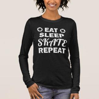 Eet het Schaats van de Slaap herhalen, de Derby T Shirts
