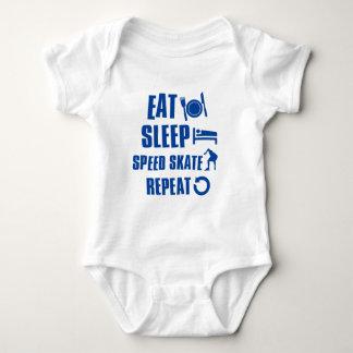 Eet het Schaats van de Snelheid van de slaap Romper