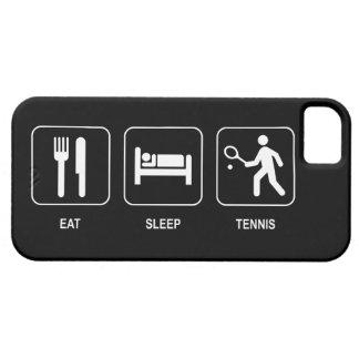 Eet het Tennis van de Slaap Barely There iPhone 5 Hoesje