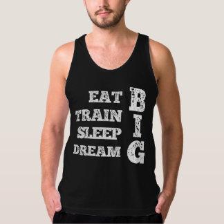 Eet, leid, Slaap op, droom GROOT T Shirt