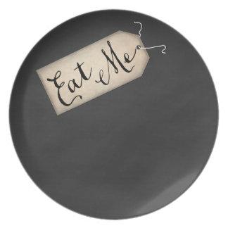 Eet me het Bord van de Melamine