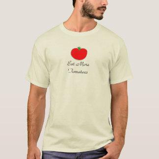 Eet Meer Overhemden van Tomaten T Shirt