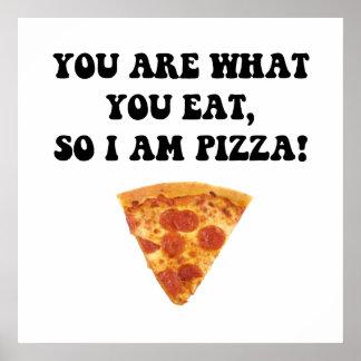 Eet Pizza Poster