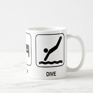 Eet Slaap duiken Mok