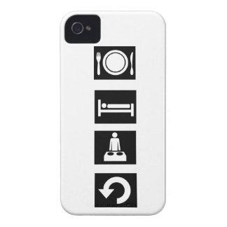 Eet, Slaap, ijl, herhaal iPhone 4 Hoesje