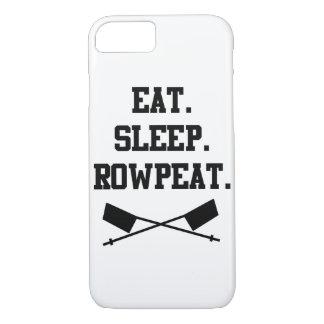 Eet. Slaap. iPhone 7 van Rowpeat Hoesje