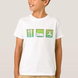 Eet, Slaap, Parkour T Shirt