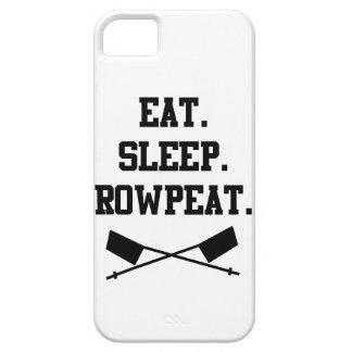 Eet. Slaap. Rowpeat Barely There iPhone 5 Hoesje
