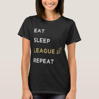Eet slaapliga herhalen t shirt
