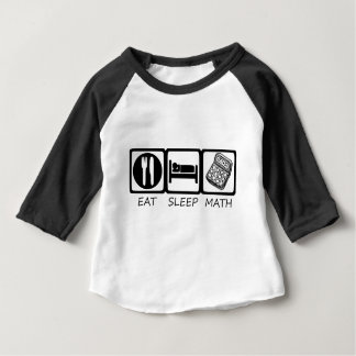EET SLEEP3 BABY T SHIRTS