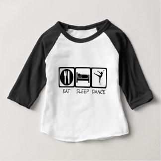 EET SLEEP9 BABY T SHIRTS