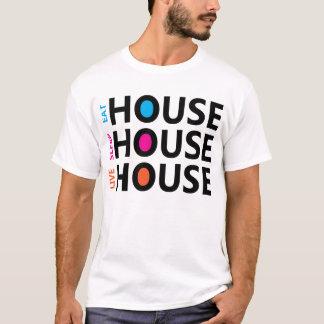 Eet T-shirt van het Huis van de Slaap de Levende