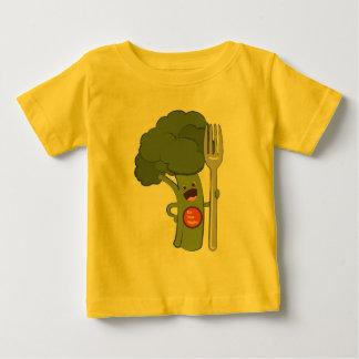 Eet uw veggies! baby t shirts