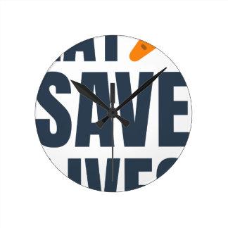 Eet Veganist - sparen het Leven Ronde Klok