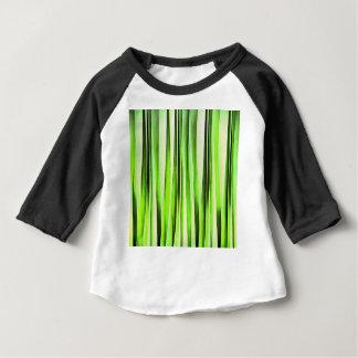 Eeuwig Altijdgroen Gestreept Patroon Baby T Shirts