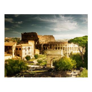 Eeuwig Rome gezien Briefkaart Colosseum